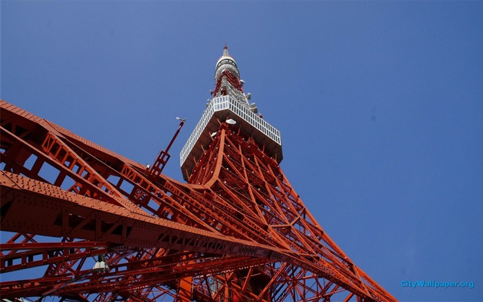 Tokyo Tower Japan cities landscape photography wallpaper 02 Views:3168