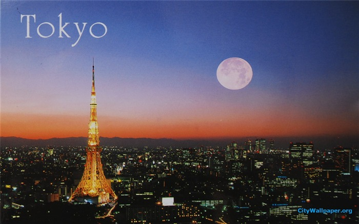 Tokyo Tower Japan cities landscape photography wallpaper 06 Views:5815