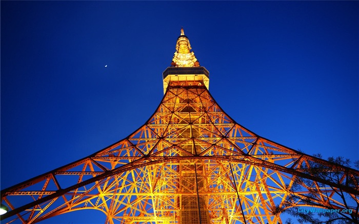 Tokyo Tower Japan cities landscape photography wallpaper 10 Views:2798