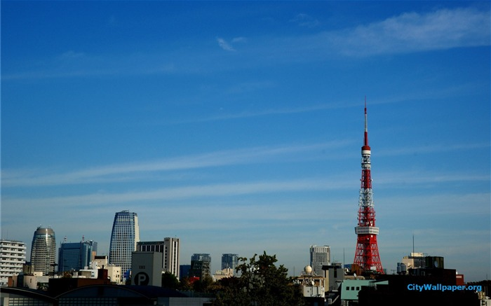 Tokyo Tower Japan cities landscape photography wallpaper 11 Views:2823