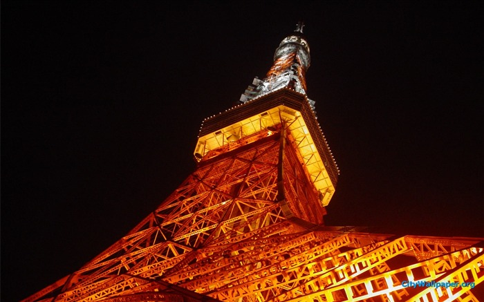 Tokyo Tower Japan cities landscape photography wallpaper 12 Views:2884