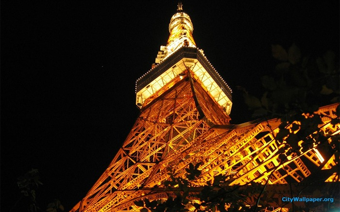 Tokyo Tower Japan cities landscape photography wallpaper 13 Views:2642