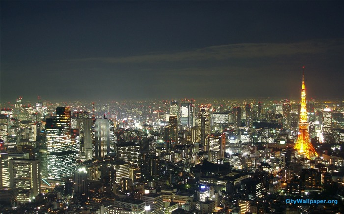 Tokyo Tower Japan cities landscape photography wallpaper 15 Views:3228