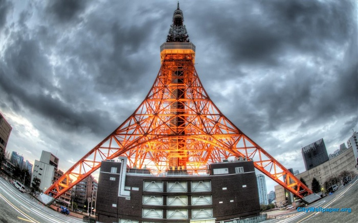 Tokyo Tower Japan cities landscape photography wallpaper 18 Views:3858