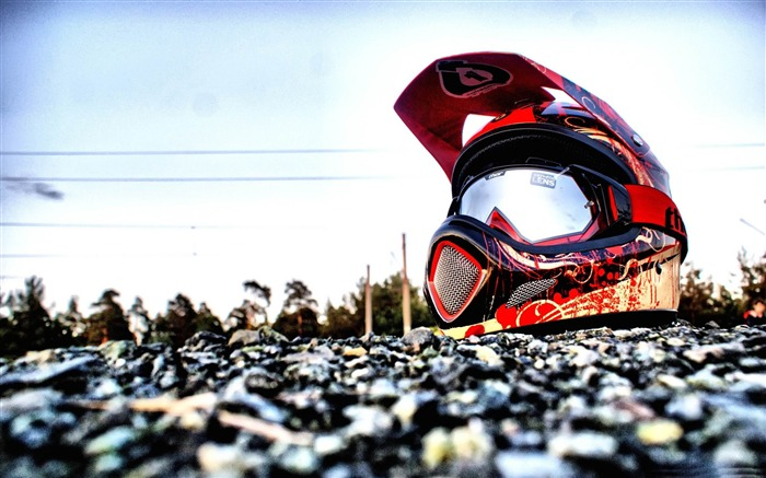 downhill biking helmet-Sports Theme HD Wallpaper Views:19216