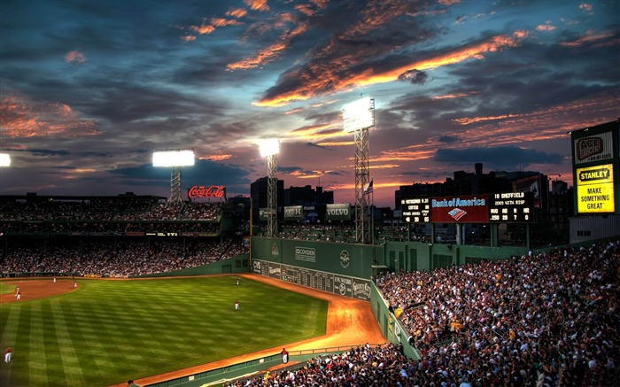 fenway park baseball park-Sports Theme HD Wallpaper Views:18946