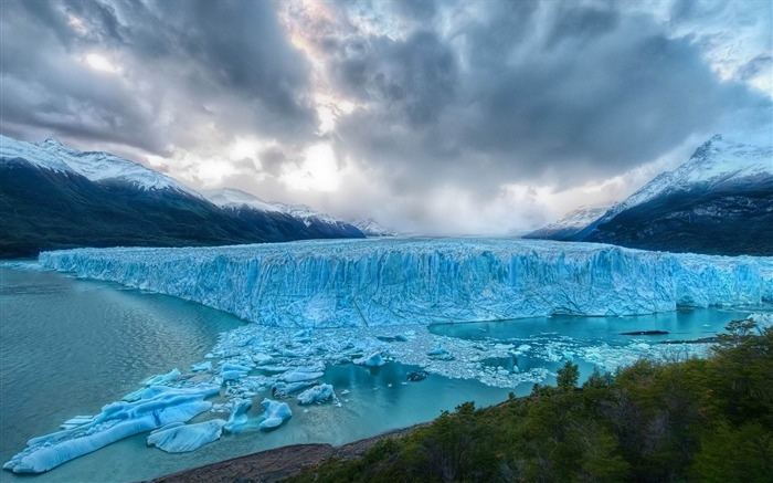 glacier-amazing natural scenery wallpaper Views:5604
