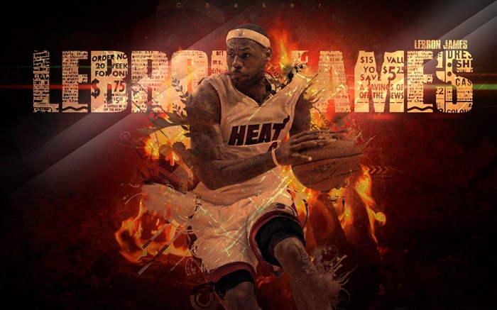 lebron james-Sports Theme HD Wallpaper Views:18488