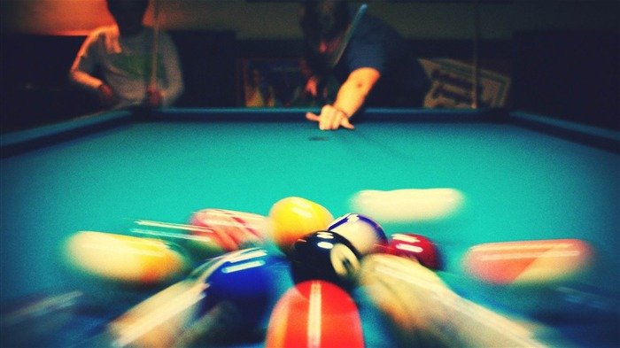 pool billiard-Sports Theme HD Wallpaper Views:7451