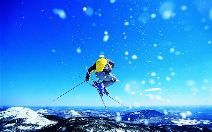skiing-sport theme photography Wallpaper Views:3400