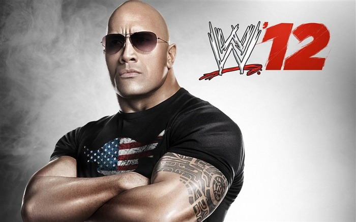 the rock wwe-Sports Theme HD Wallpaper Views:12950