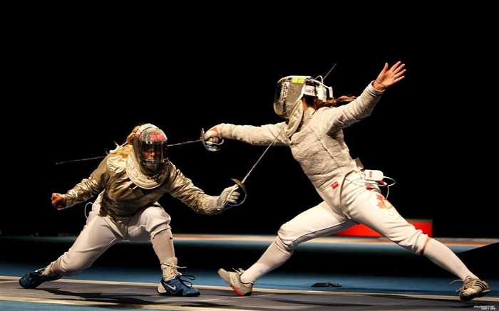 women fencing-sport theme photography Wallpaper Views:5721
