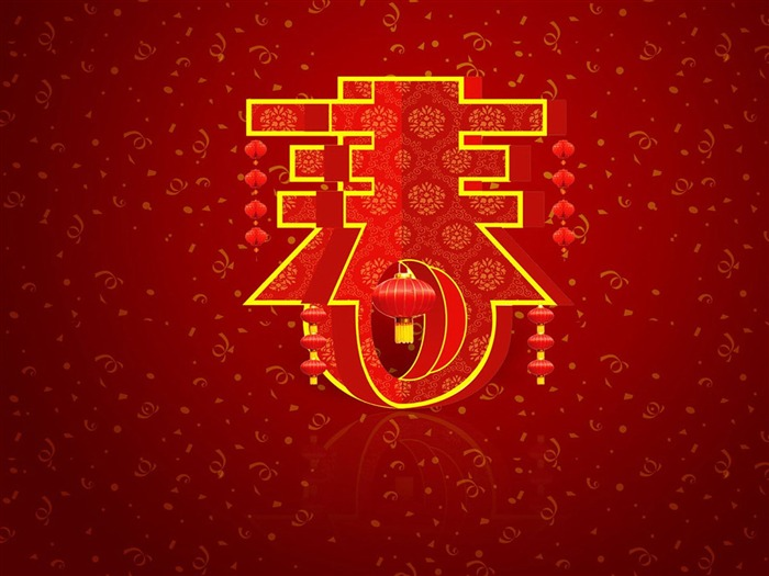 2013 Chinese New Year theme Desktop Wallpapers Views:19701