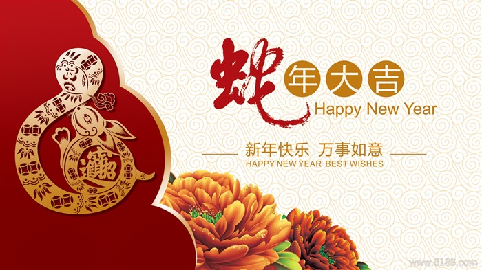 2013 Chinese New Year theme Desktop Wallpaper 03 Views:2949