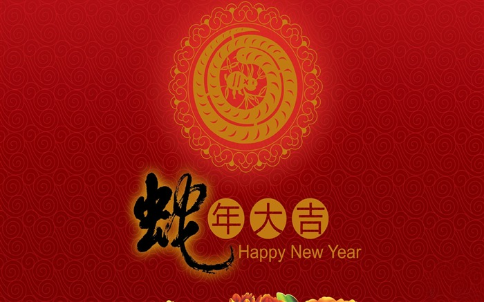 2013 Chinese New Year theme Desktop Wallpaper 14 Views:4263