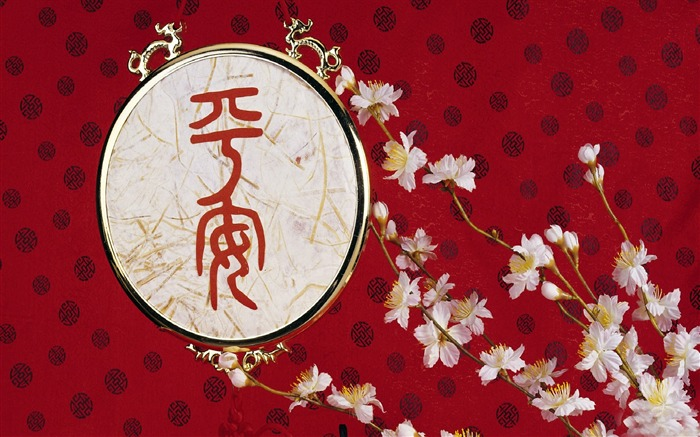2013 Chinese New Year theme Desktop Wallpaper 22 Views:2062
