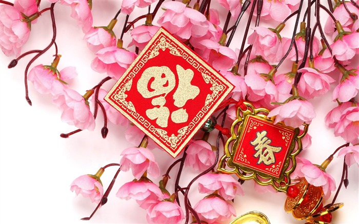 2013 Chinese New Year theme Desktop Wallpaper 33 Views:3355