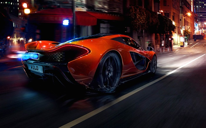 2014 McLaren P1 Auto HD Desktop Wallpapers Views:9029