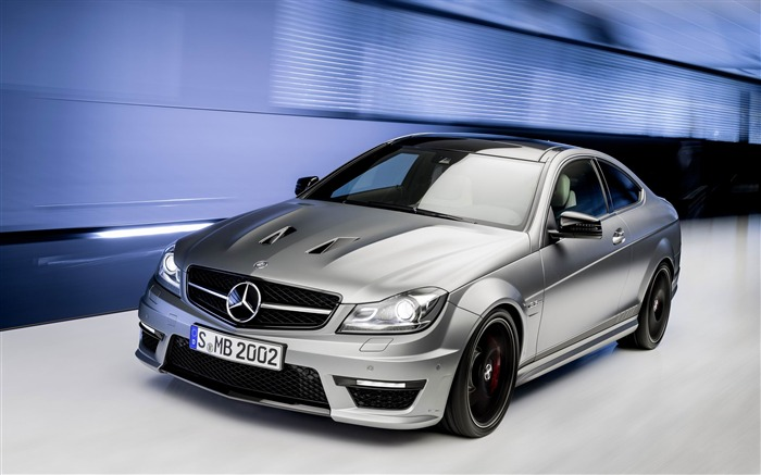 2014 Mercedes-Benz C63 AMG Edition 507 Auto HD Wallpaper Views:8791