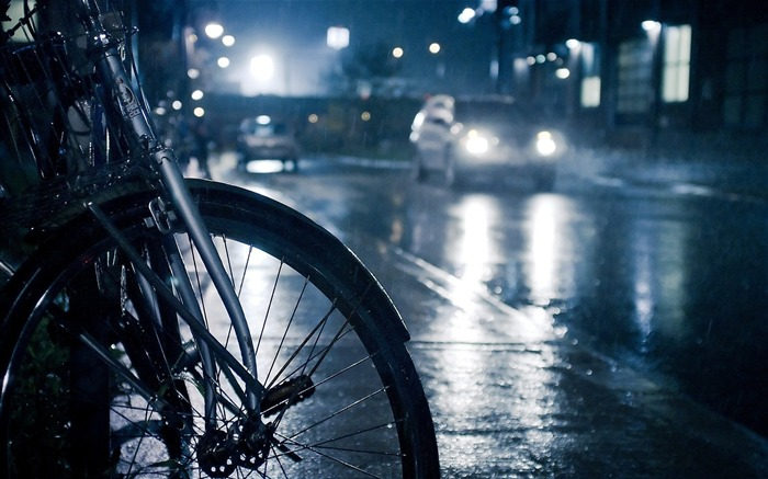 Bicycle theme photography widescreen wallpaper 02 Views:4554