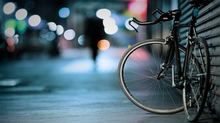 Bicycle theme photography widescreen wallpaper 06 Views:5602
