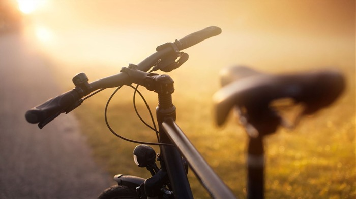Bicycle theme photography widescreen wallpaper 09 Views:17944