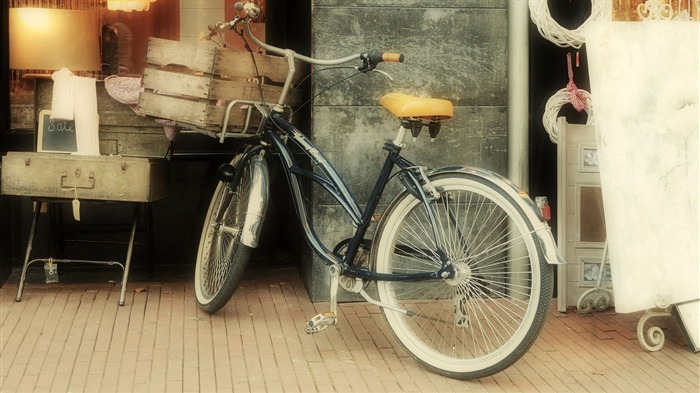 Bicycle theme photography widescreen wallpaper 11 Views:3190
