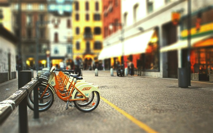 Bicycle theme photography widescreen wallpaper 13 Views:4763