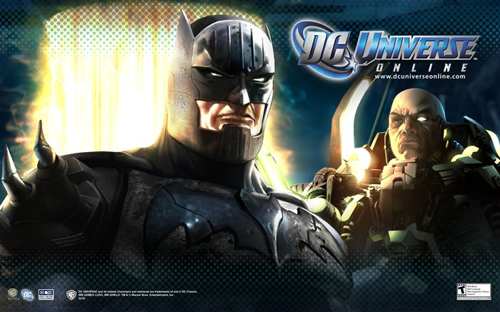 DC Universe Online Game HD Desktop Wallpaper Views:8281