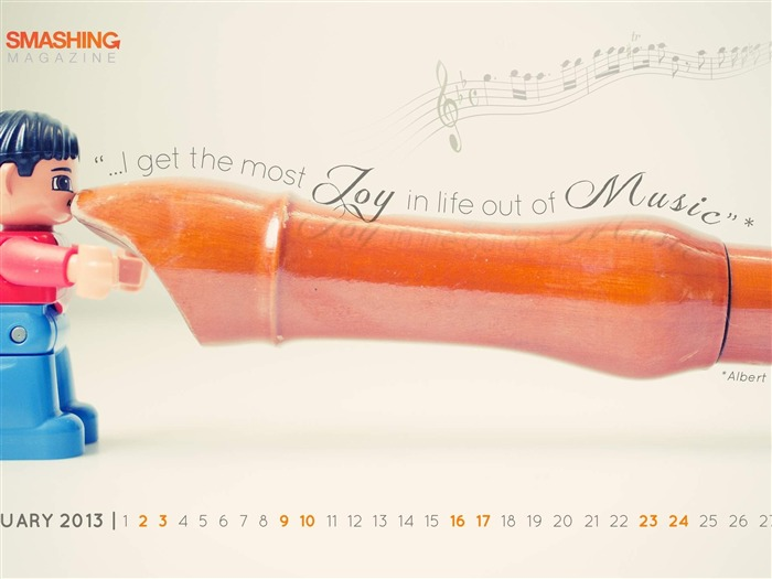 Joy Of Life-February 2013 calendar desktop themes wallpaper Views:3254