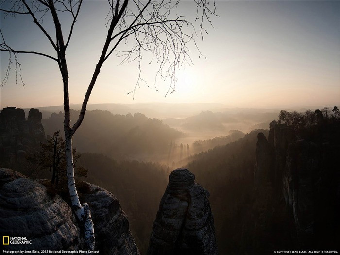 Sunrise Saxony-National Geographic photography wallpapers Views:4124 Date:2/3/2013 10:22:04 PM