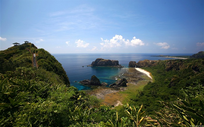 Taiwan Green Island Sleeping Beauty reef-natural landscape HD wallpaper Views:4389