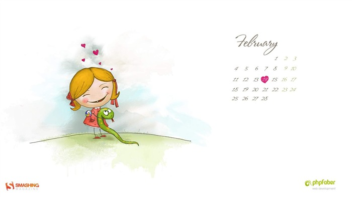 This Is Love-February 2013 calendar desktop themes wallpaper Views:1841