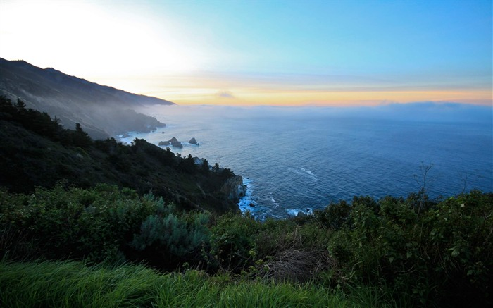 big sur sunrise-Natural scenery HD Wallpaper Views:8446