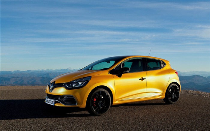 2013 Renault Clio RS 200 EDC Auto HD Desktop Wallpaper Views:7443