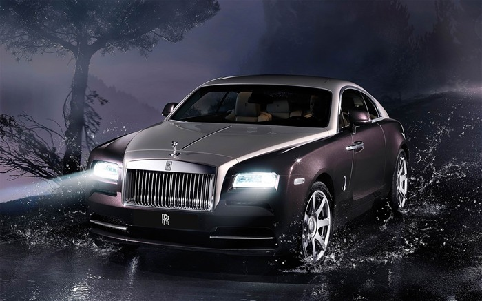 2014 Rolls-Royce Wraith Auto HD Desktop Wallpaper Views:5049