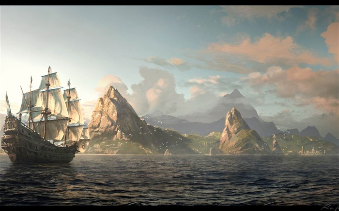 Assassins Creed IV Black Flag Game HD Desktop Wallpaper 03 Views:13071