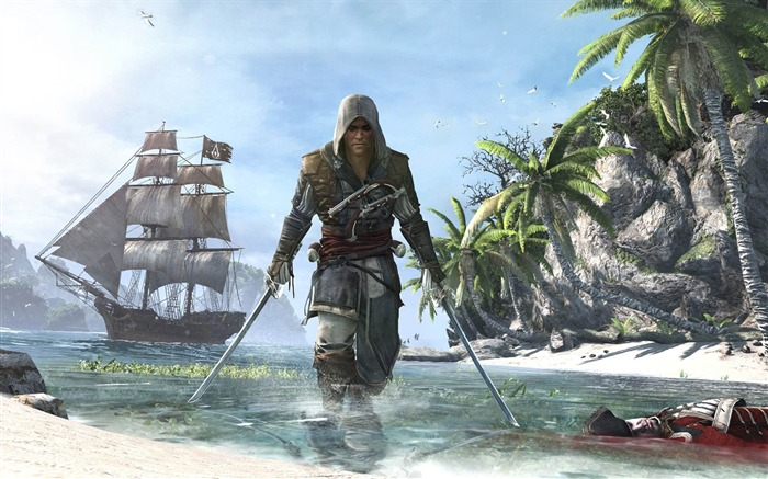 Assassins Creed IV Black Flag Game HD Desktop Wallpaper 06 Views:3546