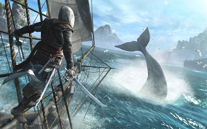 Assassins Creed IV Black Flag Game HD Desktop Wallpaper 07 Views:4046