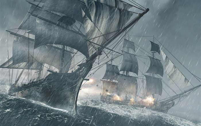 Assassins Creed IV Black Flag Game HD Desktop Wallpaper 08 Views:3200
