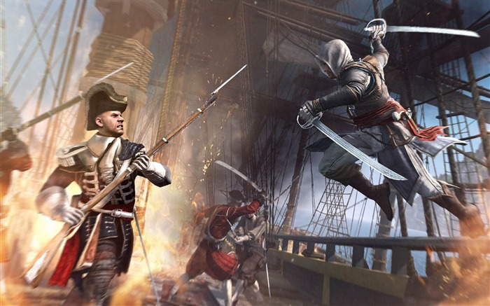 Assassins Creed IV Black Flag Game HD Desktop Wallpaper 09 Views:3959