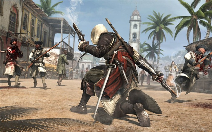 Assassins Creed IV Black Flag Game HD Desktop Wallpaper 11 Views:3763