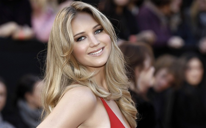 Beautiful Jennifer Lawrence-Female Celebrities Photo HD Wallpaper Views:4258