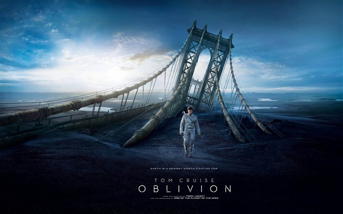 Oblivion 2013 Movie HD Desktop Wallpaper Views:10424