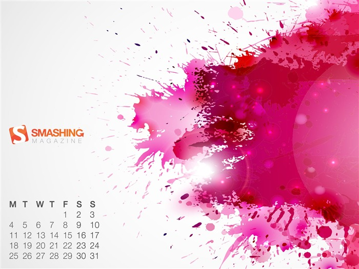 Splat-March 2013 calendar desktop themes wallpaper Views:2861