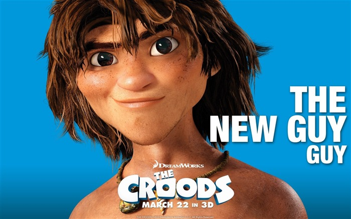 THE NEW GUY-The Croods 2013 Movie HD Desktop Wallpaper Views:3519