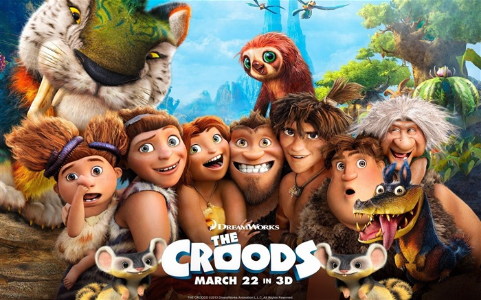 The Croods 2013 Movie HD Desktop Wallpaper Views:9282