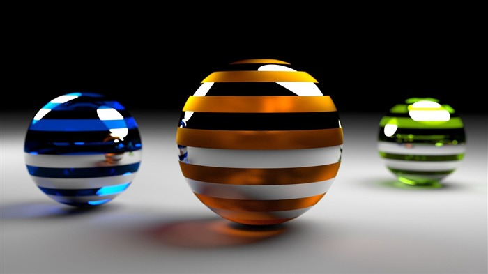 balls rendering surface-3D Creative Design HD wallpaper Views:5258