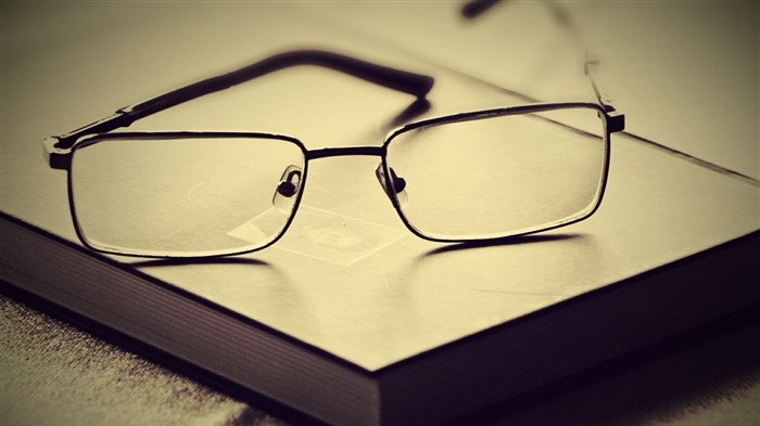 book glasses lenses frames-quality Desktop HD wallpaper Views:5862