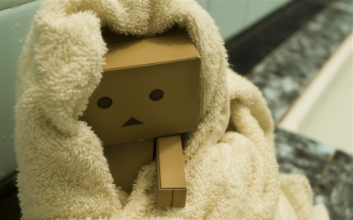cold towel hand-Danboard boxes robot photo HD Wallpaper Views:10288